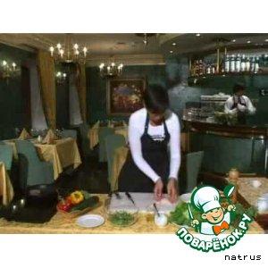 Говядина с рукколой и пармезаном – кулинарный рецепт