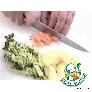 Рецепт: Салат из семги