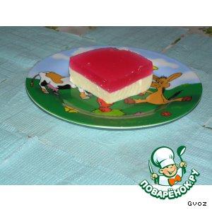 Десерт Бломанже