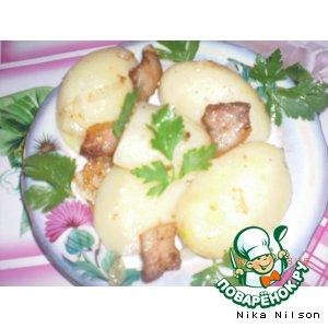 Рецепт: Сытная картошечка
