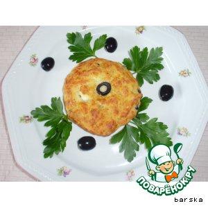 Рецепт: Сырные лепeшки - 3. С маслинами