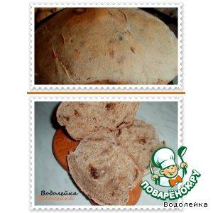 Рецепт: Хлеб с кардамоном и черносливом