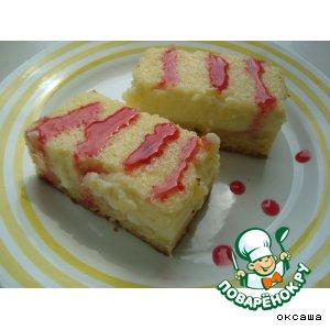 Рецепт: Пирог (пирожное) сметанный