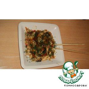 Рецепт: Китайская курочка