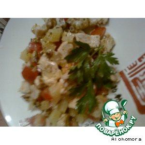 "Салат ""Хитрый кендер"" – кулинарный рецепт"