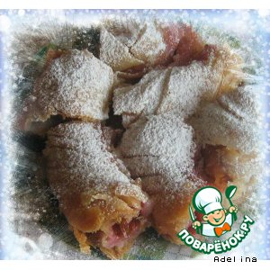 Рецепт: Вертуты с фруктами