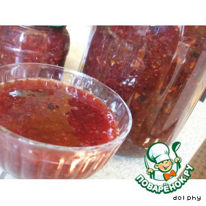Рецепт: Варенье из красной смородины с апельсинами
