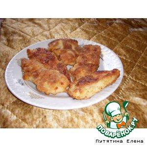 Рецепт: Наггетсы из куриной грудки