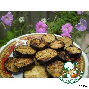 Рецепт: Баклажаны-барбекю