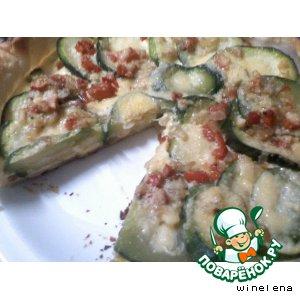 Рецепт: Тарта кабачок