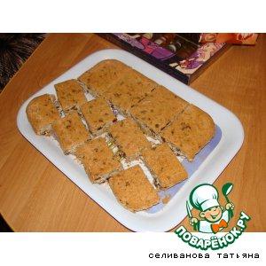Рецепт: Торт Орехово-изюмный