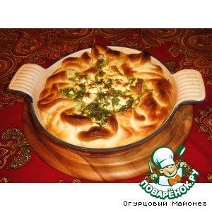 Рецепт: Грибной пирог «Рыжий лис»