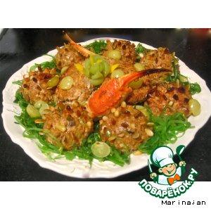 Рецепт: Фаршированный краб Farse a Crab