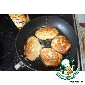 Рецепт: Оладьи кабачковые на кефире