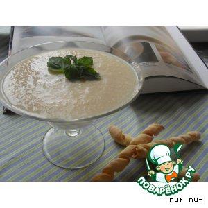 Рецепт: Грушевый суп-пюре с сырными палочками