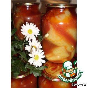 Рецепт: Перец, фаршированный капустой Витаминный