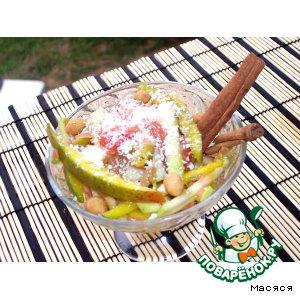 """Рецепт: Фруктовый салатик """"Летний вечер"""""""
