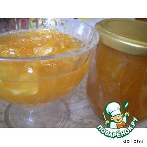 Рецепт: Мармелад из цуккини с имбирем