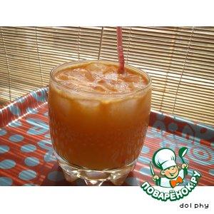 Рецепт: Напиток с ромашкой, морковью и апельсином