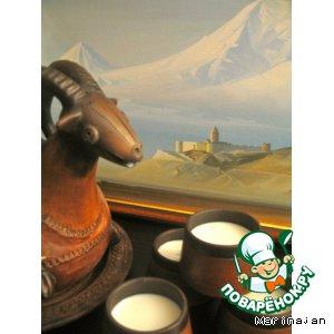 Рецепт: Тан - национальный кавказский  напиток