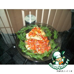 Рецепт: Тилапия запеченная в фольге Одна дома