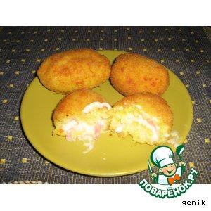 Рецепт: Рисовые апельсинки 2 - Arancini al burro