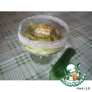 Рецепт: Крем из авокадо