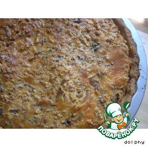 Рецепт: Карамельно-ореховый тарт