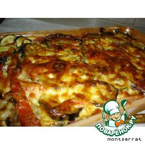 Рецепт: Мусака из печеных овощей