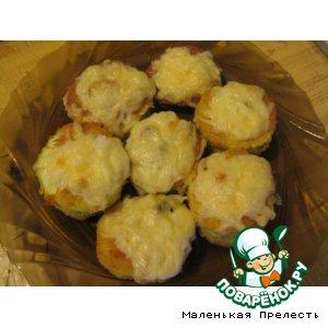 Рецепт: Кабачки с грибами