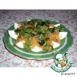 Рецепт: Закуска Тайско-корейский мотив