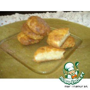 """Рецепт: """"Peynir Tatlisi""""  - творожная сладость"""