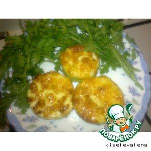 Рецепт: Кабачки Сырная полянка