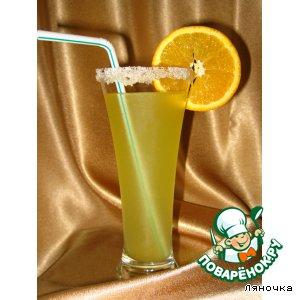 Рецепт: Морс Апельсиновый блюз