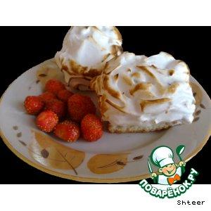 Рецепт: Пирожное Райское облачко
