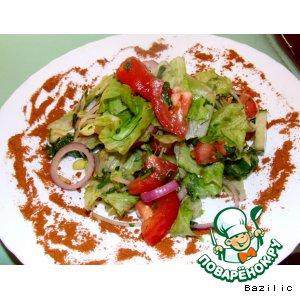 """Рецепт: Салат диетический """"Вкусная диета"""""""