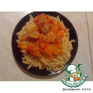 Рецепт: Мясцо в томате