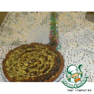 Рецепт: Пирог с творогом и шпинатом