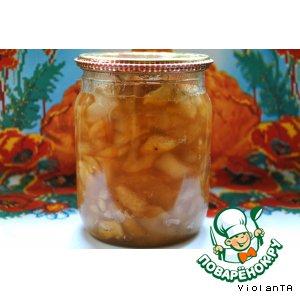 Рецепт: Яблочно-грушевое варенье с корицей