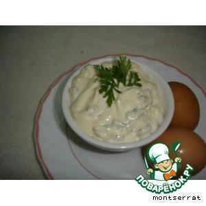 Рецепт: Холодный соус Тартара