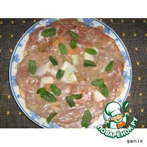 Рецепт: Говядина аль карпаччио