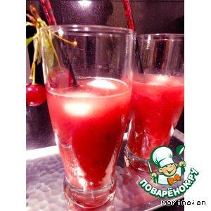 """Рецепт Освежающе- тонизирующий напиток """"Розовая пантера"""""""