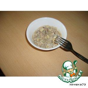 Рецепт: Салат с куриной печенью
