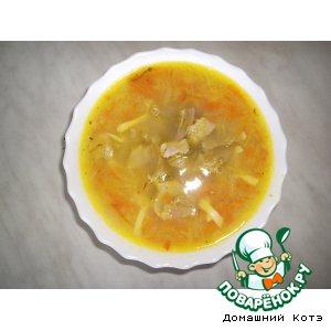 Рецепт: Суп с картофельным пюре