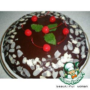 "Рецепт: Торт ""Шоколадный блюз"""