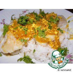 Рецепт: Рыба с соусом карри