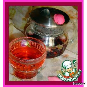 Рецепт: Розовый чай