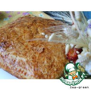 Рецепт: Пирог капустный с килькой