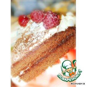 Рецепт: Шоколадный торт на гречневой муке