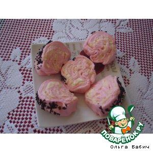 Рецепт: Десерт Розовое облачко